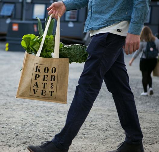 Kooperativet grønnsakspose