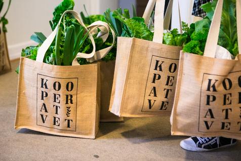 Kooperativet grønnsaksposer