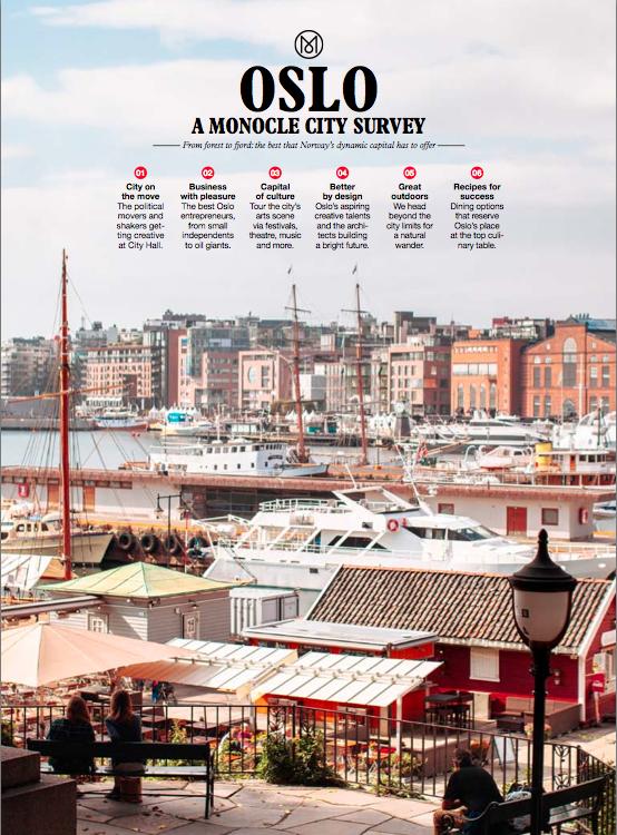 Oslo Kooperativ i Monocle Magazine!