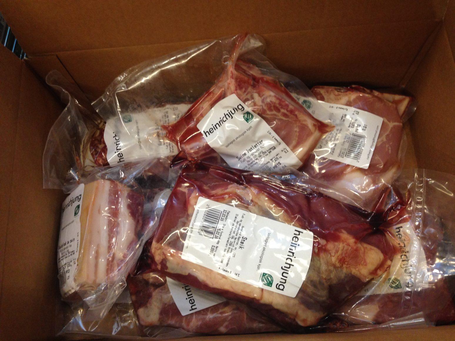 Datomerking og håndtering av kjøtt i kjøttposen